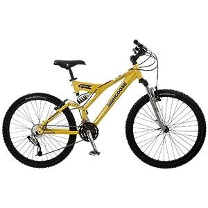 Mongoose Tech 4 Men's Dual-Suspension Mountain Bike