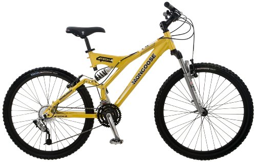 Mongoose Tech 4 Men's Dual-Suspension Mountain Bike (26-Inch Wheels)