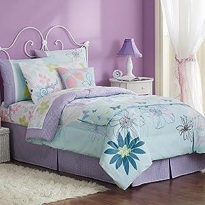 cannon teen remix full queen size comforter 2 standard pillow shams set. Black Bedroom Furniture Sets. Home Design Ideas
