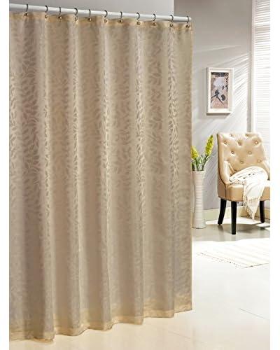 Duck River Textile Baltic Shower Curtain, Sand