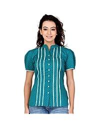 Lifestyle Retail Women Cotton Printed Shirt