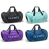 "Runetz - Gym Bag Travel Duffle Large 20"" - 30"" for Men & Women Shoulder Duffel Sport"