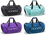"Runetz - Gym Bag Travel Duffle Large 20"" & XL 30"" for Men & Women Shoulder Duffel Sport"