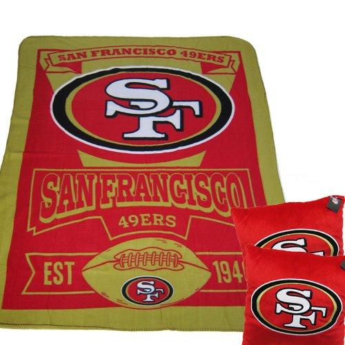 49ers Blanket Fleece front-1046364