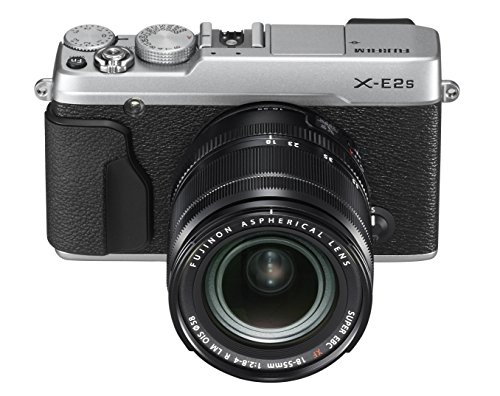 Fujifilm X-E2S Mirrorless Camera w/XF18-55 Lens Kit (Silver) (Fujifilm Xe 1 compare prices)