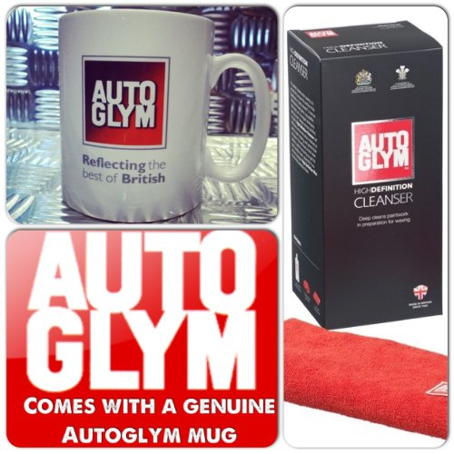 Autoglym Ultimate High Definition Deep Car Paintwork Cleanser Kit + Genuine Mug Cup