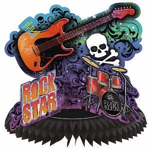 Rock Star Centerpiece