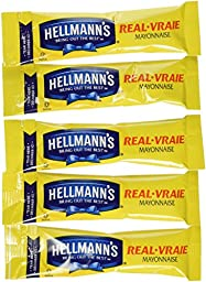 75 Individual Hellmann\'s Mayo Packets-Great For Work/School; Always Fresh!