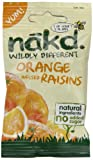 Nakd Wildly Different Orange Infused Raisins 25 g (Pack of 18)