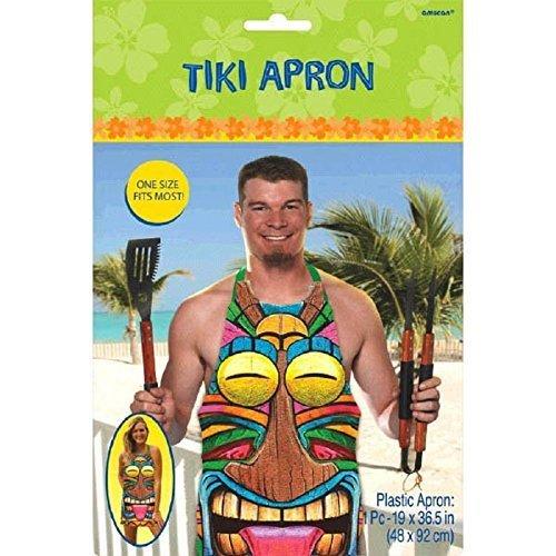 Tiki Plastic Apron - 1