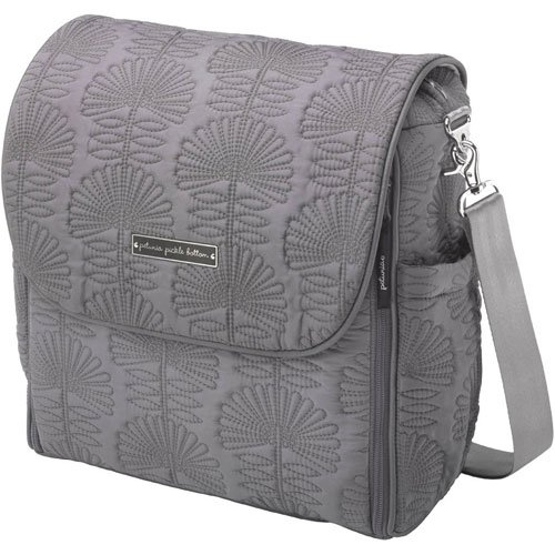 Petunia Pickle Bottom Boxy Backpack In Embossed Champs-Elysees Stop