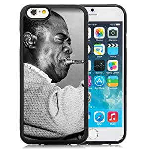6 case,Unique Design Louis Armstrong Pipe Jacket Face Play iPhone 6 4.7 inch TPU case cover