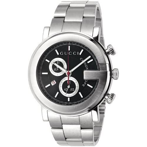 [グッチ]GUCCI 腕時計 101M ブラック SS クロノグラフ YA101309 メンズ 【並行輸入品】