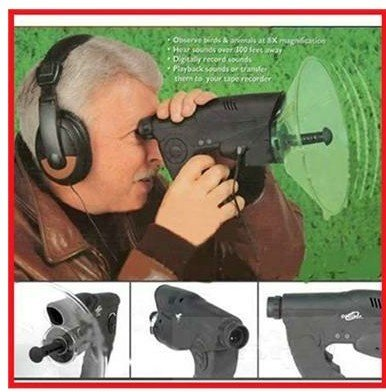 Evision Bird Observer Telescope Sound Amplifier Spy Camera Digital Spy Recording