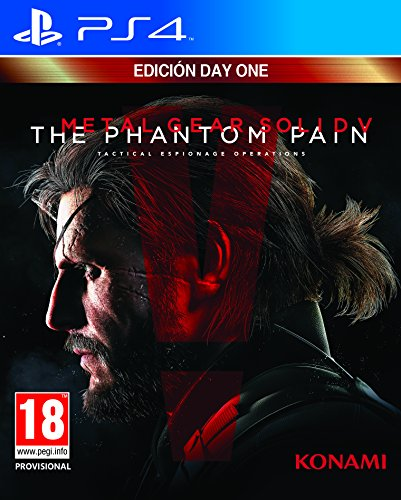 Metal Gear Solid V: Phantom Pain - Day One Edition.