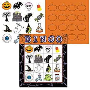 Halloween Batty Bingo Game by Amscan International Limited