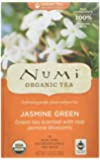 Numi Organic Tea Jasmine Green, Full Leaf Green Tea, 18 Count Tea Bags (Pack of 3)