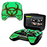 MightySkins Protective Vinyl Skin Decal NVIDIA Shield Portable Cover wrap Skins Sticker Biohazard (Color: Biohazard, Tamaño: NVIDIA Shield Portable)