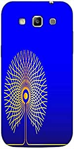 Snoogg abstract golden tree Hard Back Case Cover Shield For Samsung Galaxy Grand Quattro Win I8550