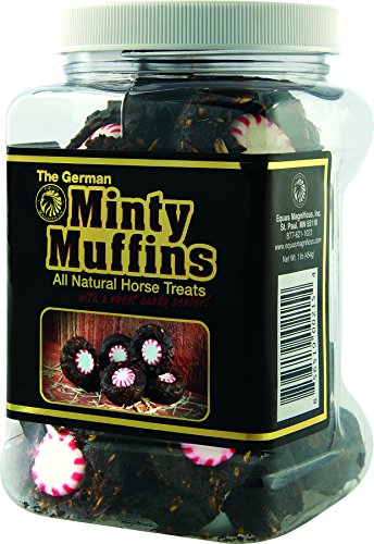 Equus Magnificus, Inc. 10020013 German Minty Muffins All Natural Horse Treats 1 Pound