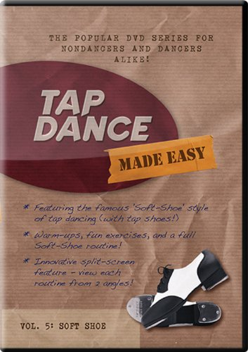 Tap Dance Made Easy - Vol 5: Soft Shoe (Tap Dance Instructional Dvd compare prices)