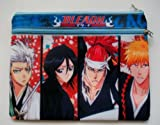 "8"" x 5"" Anime Bleach Ichigo Large Zipper Multi Purpose Pencil Cosmetic Purse Pouch #2"