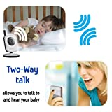 Samsung SEW-3036WN Wireless Video Baby Monitor IR Night Vision Zoom 3.5 inch