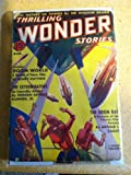 img - for Thrilling Wonder Stories, August, 1938, Vol XII No 1 book / textbook / text book
