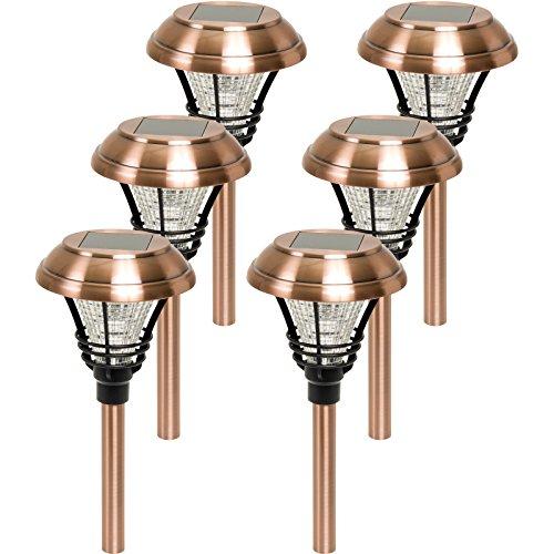 Westinghouse-Kenbury-10-Lumens-LED-Outdoor-Garden-Solar-Path-Lights-6-Pack
