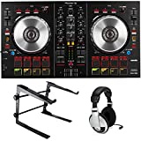 Pioneer DDJ-SB2 Serato DJ Controller Bundle with Stand and Headphones