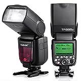 TARION TF685C カメラフラッシュ スピードライト ストロボ E-TTL HSS 1/8000S S1 S2 2.4G ワイヤレスシステム内蔵 Canon Dslr デジタル 一眼レフカメラ に対応