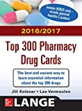 img - for McGraw-Hill's 2016/2017 Top 300 Pharmacy Drug Cards book / textbook / text book