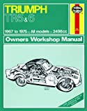 Haynes Garage Quality Car Repair Manual/Book For Triumph TR5 & 6 (67 - 75) up to P * Including a De-Mister Pad and 1 Car Air Freshner.