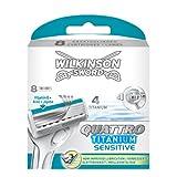 Wilkinson Sword Quattro Titanium Razor Blades 8 Packby Wilkinson Sword