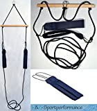 H&K-Sportperformance Schlingen Suspension Functional Sling Trainer inkl. Abstandshalter mit blauen