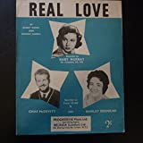 img - for song sheet REAL LOVE R. Murray Chas McDevitt S. Douglas book / textbook / text book