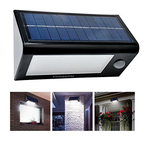 cozypony solarlampe 400 lumen 32 led solar. Black Bedroom Furniture Sets. Home Design Ideas