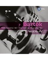 Bartok : Concertos pour violon n° 1 et 2 - Concerto pour alto - Rhapsodies n° 1 et 2 - Sonates et duos pour violon