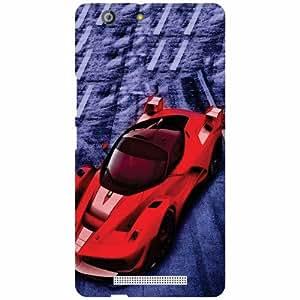 Gionee Marathon M5 Back Cover ( Designer Printed Hard Case)