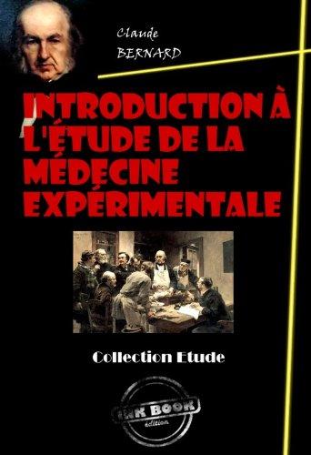 Couverture du livre Introduction à l'étude de la médecine expérimentale