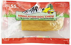 Himalayan Dog Chew 100% Natural Dog Treat for Dogs Under 55 lbs