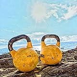 KettleBell »Kylon« Kugelhantel 2 - 20 kg / Handgewicht 100% Eisen mit Neoprenoberfläche / High Performance Studio-Qualität / 8kg / himmelbau -