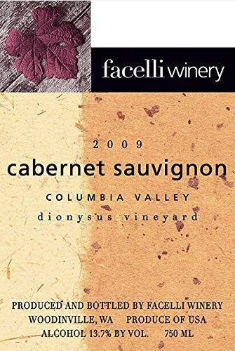 2009 Facelli Winery Dionysus Vineyard Cabernet Sauvignon 750 Ml