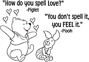 Quote It Winnie The Pooh Wall Quote How Do