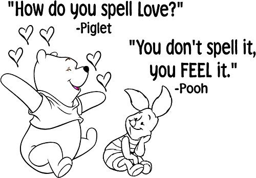 Winnie The Pooh Wall Quotes front-649297