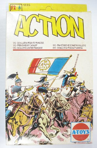 Action French Heavy Cavalry Kit #1235 1:72 Scale by A-Toys