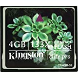 Kingston 4GB CompactFlash Memory Card Elite Pro 133x CF/4GB-S2