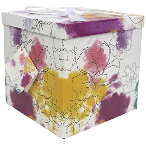 Endless Art US Carmen EZ Gift Box. Easy to Assemble and No Glue Required. (9x9)