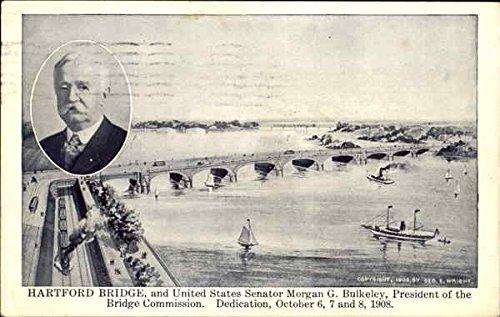 Hartford Bridge in Hartford, Connecticut 1908