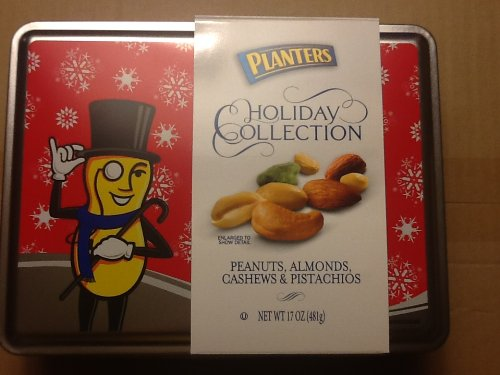 Planters Holiday Collection; Peanuts, Almonds,